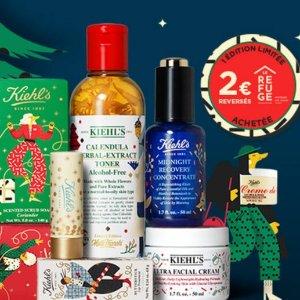 8.5折+送大礼包+5小样Kiehl's官网 圣诞大促 每购买一件产品就可捐€2给慈善机构