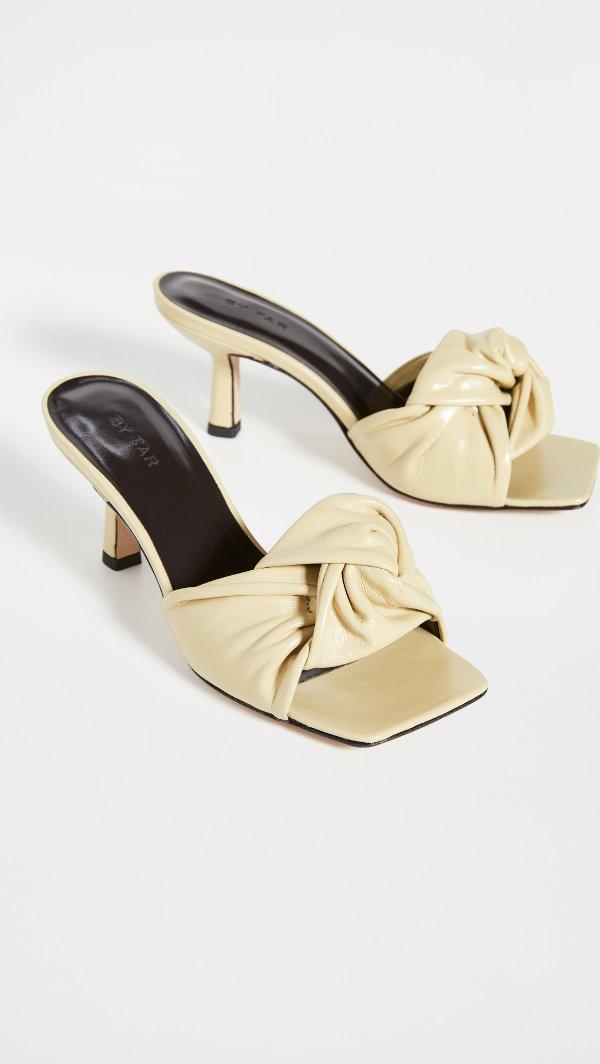 Lana 黄色凉鞋