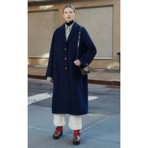 Tory BurchDouble-Faced Wool Overcoat
