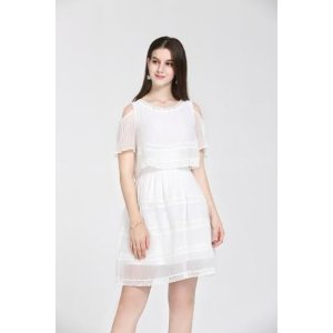 CorinneWhite Cold Shoulder Dress