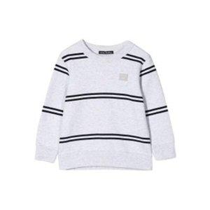 Acne StudiosKids Grey Striped Sweatshirt
