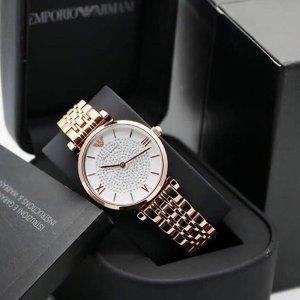 低至5.1折+额外7折独家:Emporio Armani 精选手表热卖 收满天星、白贝母腕表