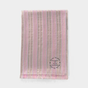 Acne StudiosScarf in Pink and Lilac Synthetic Fabric