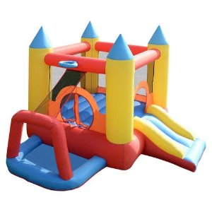 $139.99Costway Inflatable Mighty Bounce House @ Seas.com
