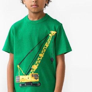 $7.99起+新用户额外8折Hanna Andersson 儿童T恤一日闪购