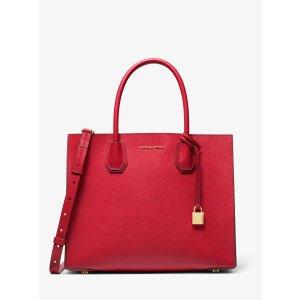 Michael KorsMercer Large Saffiano Leather Tote Bag