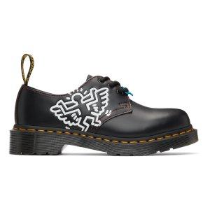 Dr. Martens5,6,7码Keith Haring 合作款牛津鞋