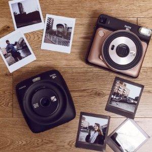 低至6折Fujifilm富士 Instax系列拍立得相机,相纸$19起
