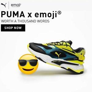 €30起+免运费上新:PUMA X EMOJI® 联名系列来啦 超搞笑的小表情