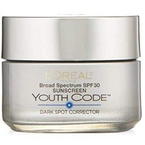 Amazon L'Oreal Paris Youth Code Dark Spot Corrector Facial Day Cream Sale