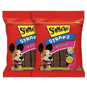 Schmackos 小狗零食2x500g