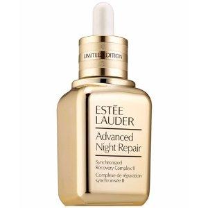 Estee Lauder第2件5折金色限量小棕瓶精华3.9oz(价值$249)