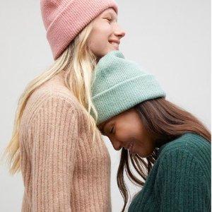 低至6折 泰迪熊外套£45 温柔毛衣£20Monki 秋冬款超值好折闪现 简约又可爱 收泰迪熊外套、大毛衣、工装夹克
