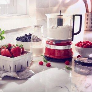 8.5折KitchenAid 厨师机、配件和各种厨房用品热卖