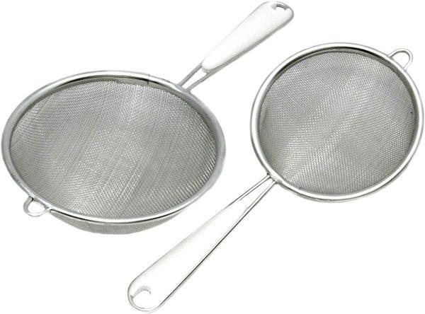 Chef Craft 精细不锈钢过滤网2个