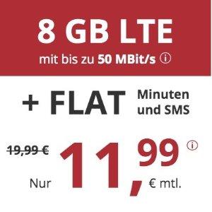 月租€11.99 代号入网送€6.82限时特价 包月电话/短信+8GB高速流量+欧盟漫游