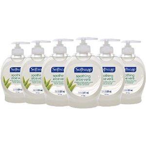 $5.64 每瓶仅$0.94Softsoap 抗菌洗手液 7.5oz x 6瓶
