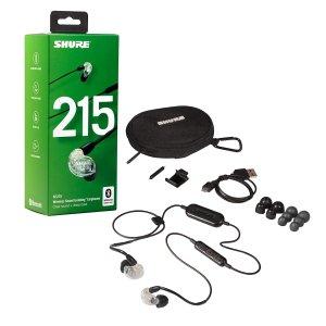 Shure SE215 动圈耳机 带官方蓝牙耳机线