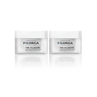 折合¥261/件 + 免邮中国Filorga 菲洛嘉 逆时光眼霜 15ml*2件装,一瓶解决几大眼部问题