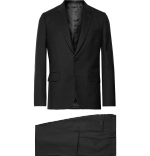 Paul Smith London - Black A Suit To Travel In Soho Slim-Fit Wool Suit