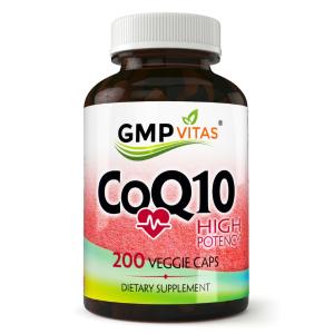Up to 75% off + bogoGMP Vitas® High Potency CoQ10 200 Veggie Capsules