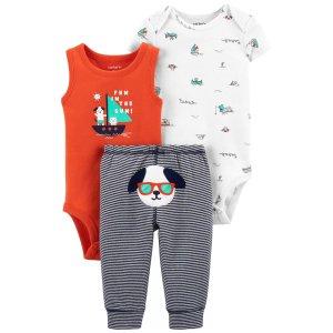 Carter's婴儿帆船3件套