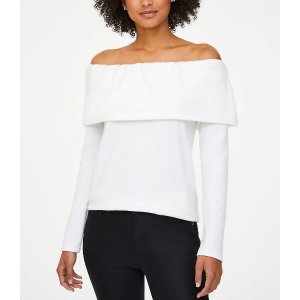 $10 Off $100Cozy Off The Shoulder Tunic Top