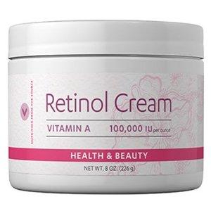 Vitamin A$20 off $80Retinol Cream 100,000 IU 8 oz. at Vitamin World