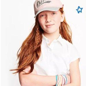 Polo衫$5.99 + 全场包邮!OshKosh BGosh 儿童基本款服饰低至5折+额外8折