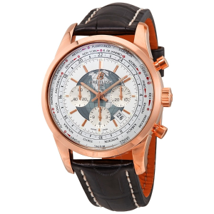 Extra $6000 OffBREITLING Transocean Men's 18kt Rose Gold Chronograph Watch
