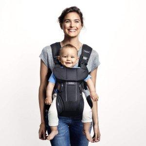 $135 (原价$269.95)史低价:BabyBjorn Baby Carrier One 超舒适专业婴儿背带