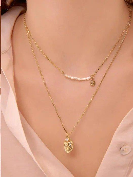 小珍珠项链