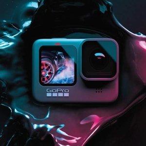 8.8折 折后仅€379史低价:GoPro Hero9 防水运动相机 超强防抖 3.0 支持5K视频录制
