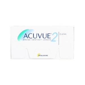 舒适UV防护 6片Acuvue 2 2周抛