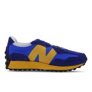 最大35码 小脚妹子可穿New Balance 327 大童款复古运动鞋