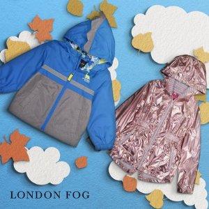 低至3折 $9.99起London Fog 儿童外套热卖