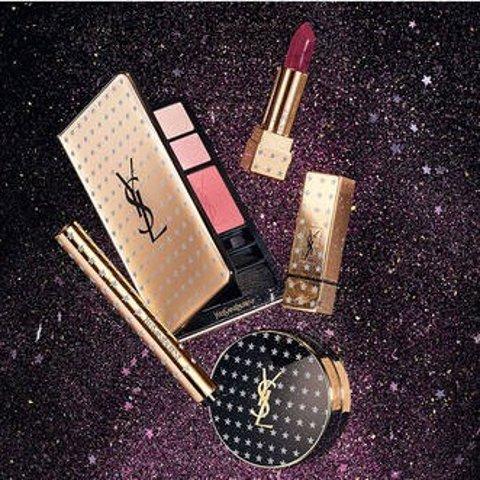 收圣诞日历+满额好礼YSL 圣诞限量彩妆发售 二代星辰你爱了吗