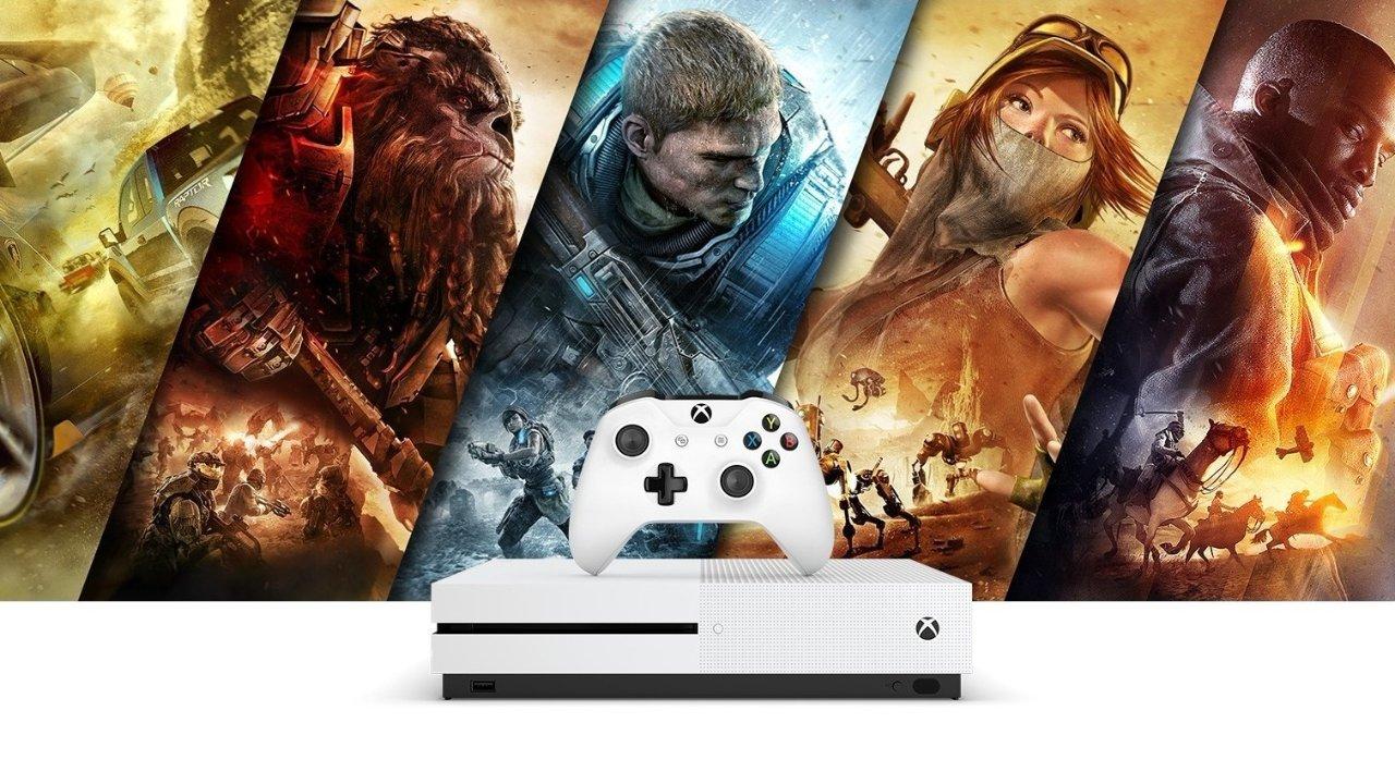 家庭游戏机推荐丨微软XBOX ONE S游戏机测评