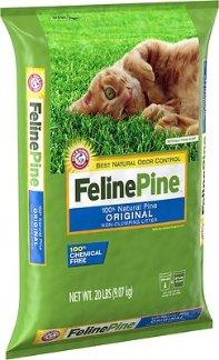 Feline Pine Original Cat Litter, 20-lb bag - Chewy.com