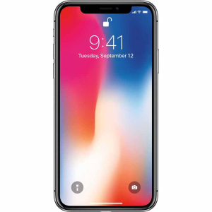 $399.99Apple iPhone X 64GB Silver AT&T