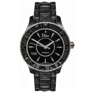 DiorViii Black Ceramic Automatic Ladies Watch CD1245E0C001