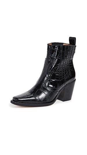 Ganni 西部靴