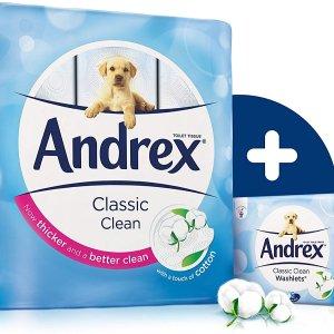 低至6.5折 一卷低至£0.4Andrex 精选卷纸好价热促  冬季日常囤货必备
