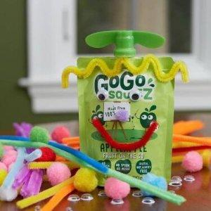 $5.97(原价$7.97)Go Go Squeez 苹果香蕉营养果泥12支 宝宝也需要一天一苹果