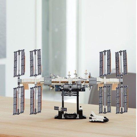 £64.99LEGO官网 国际空间站(21321)献给所有做过天文梦的孩纸