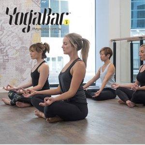 $14(原价$35)7店通用YogaBar 瑜伽、普拉提、Barre课程(两周)