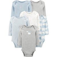 Carter's 婴儿北极熊包臀衫6件套