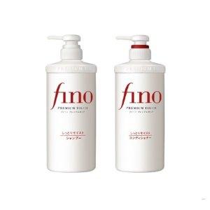过年不打烊价¥135+包税Fino 美容复合精华洗发水+护发素 550ml/瓶