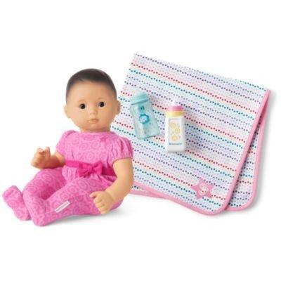 Bitty Baby Doll #4 娃娃套装 粉色睡衣