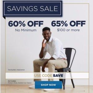 低至3.5折 西裤$36起Haggar 精选男士西裤促销热卖